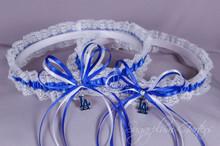Los Angeles Dodgers Lace Wedding Garter Set