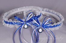 Indianapolis Colts Lace Wedding Garter Set