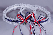 Houston Texans Lace Wedding Garter Set