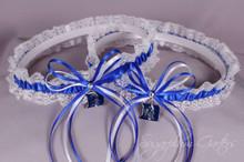 Duke University Blue Devils Lace Wedding Garter Set