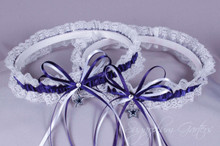 Dallas Cowboys Lace Wedding Garter Set