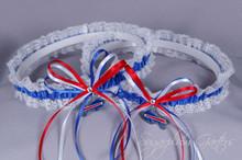 Buffalo Bills Lace Wedding Garter Set
