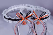 Baltimore Orioles Lace Wedding Garter Set
