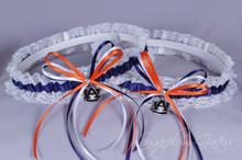 Auburn University Tigers Lace Wedding Garter Set