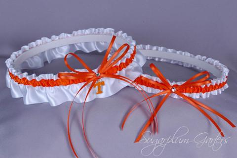 University of Tennessee Vols Wedding Garter Set