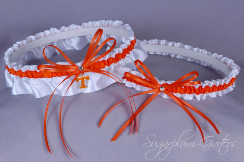 University of Tennessee Vols Wedding Garter Set