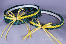 University of Oregon Ducks Wedding Garter Set