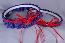 University of Mississippi Ole Miss Rebels Wedding Garter Set