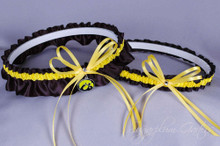 University of Iowa Hawkeyes Wedding Garter Set