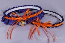 University of Illinois Fighting Illini Wedding Garter Set