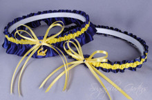 University of California, Berkeley Golden Bears Wedding Garter Set