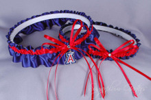 University of Arizona Wildcats Wedding Garter Set