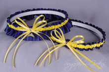 Los Angeles Chargers Wedding Garter Set