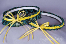 Oakland Athletics Wedding Garter Set