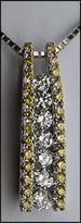 18k Yellow Diamond Pendant - .60ct Diamond