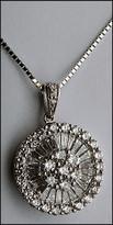 1.50ct White Gold Diamond Pendant