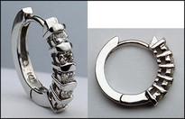 Diamond Huggie Earrings w/ .40ct Diamond