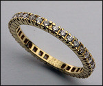 Diamond Eternity Band .52ct, G-VS2,