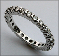 Diamond Eternity Band with Round Diamonds - 1.07ct