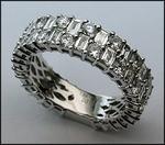 18kt White Gold Diamond Eternity Ring