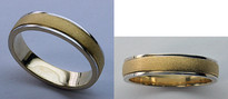 14kt Gold Mens Wedding Band