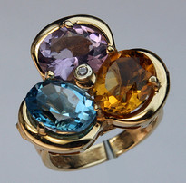 14kt Gold Semi Precious Ring