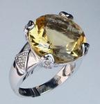 14kt Gold Citrine Ring 51MING