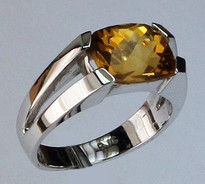 14kt Gold Citrine Ring 18902R