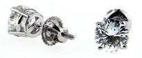 1.25ct Round Diamond Stud Earrings