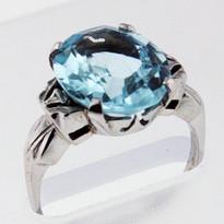 4.7ct Aquamarine Ladies Ring