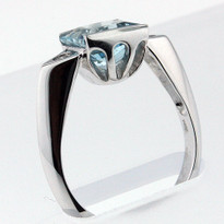 2.05ct Aquamarine Ladies Ring