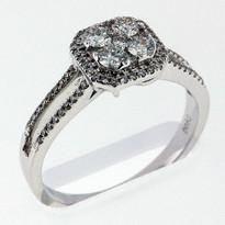 Diamond .86ct cocktail ring