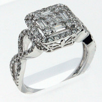 Diamond .80ct cocktail ring