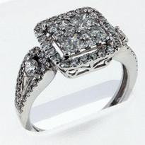 Diamond .90ct cocktail ring