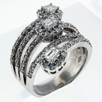 3.06ct Diamond cocktail ring