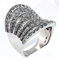 4.16ct Diamond cocktail ring