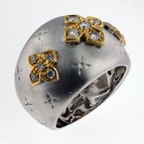 Diamond .40ct Designer Ring in White Gold