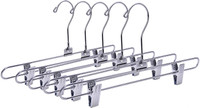 35.5CM X 3.5mm Thick Metal Pant/Skirt Hanger (Sold in Bundles of 25/50/100)