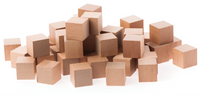 Cedar square blocks for Clothes Storage and Drawers 100% Natural Aromatic Red Cedar Wooden Balls - Sold in  15/30/60/90/180 Cubes