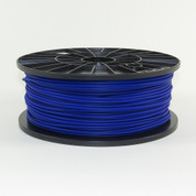PLA filament, 3mm, dark blue color
