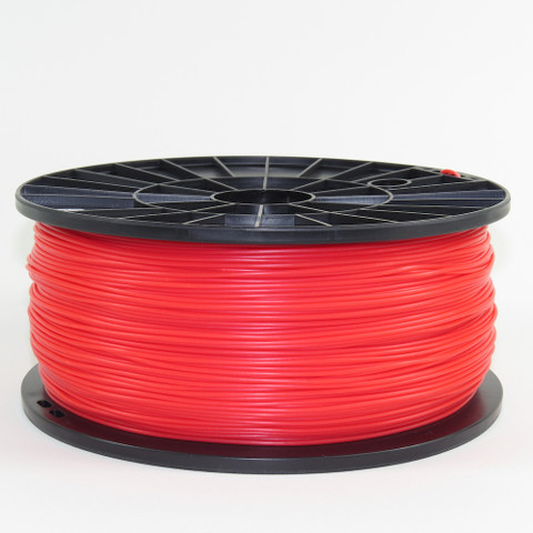 ABS filament, 1.75mm, red color
