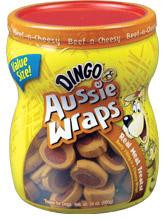 Dingo Aussiewraps Beef and Cheese DI80023