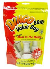 Dingo Bone Small 6Pk Value Bag DI95005