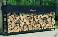 "Woodhaven Log, Firewood Rack & Cover 8""x4""x14"""