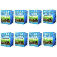 Milky Spore Powder 8 X 40oz. Organic Grub & Japanese Beetle Control Treats 80,000 Sq. Ft. 80040-6