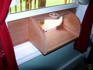 Coveside Window In-House Breadbox Window Bird Feeder
