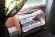 Coveside Window In-House Breadbox Window Bird Feeder W/Mirror