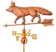 Full Size Fox Weathervane