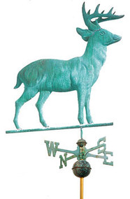 Full Size Standing Deer Weathervane