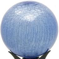 """Achla 10"""" Gazing Globe Blue Lapis Crackle"""